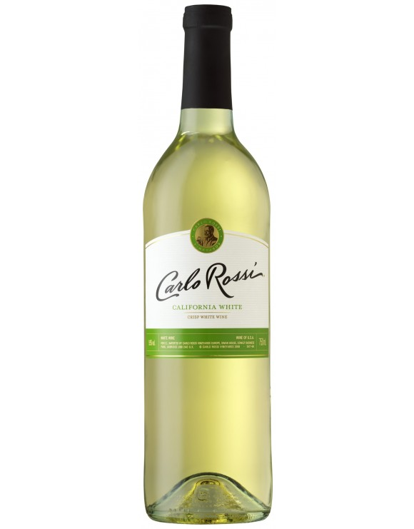 WINO CARLO ROSSI CALIFORNIA WHITE 750ml