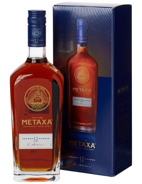 METAXA 12* 700ml + GIFT BOX