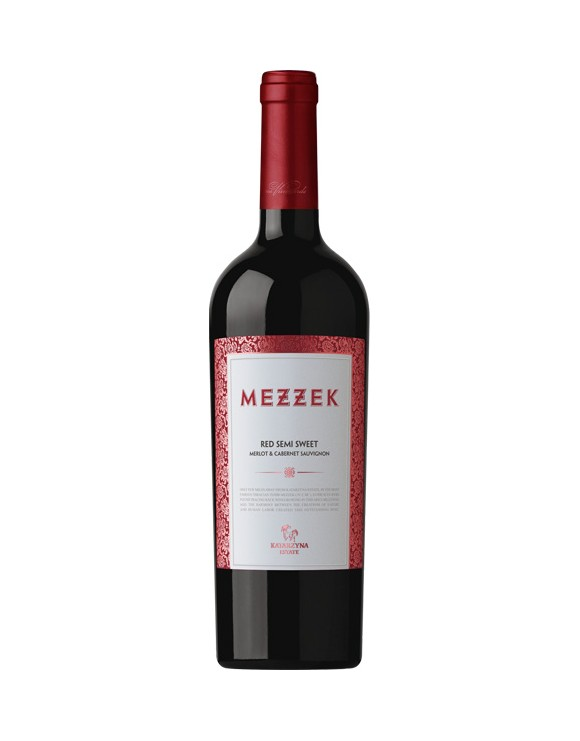 MEZZEK RED SEMI SWEET MERLOT & CABERNET SAUVIGNON 750ml