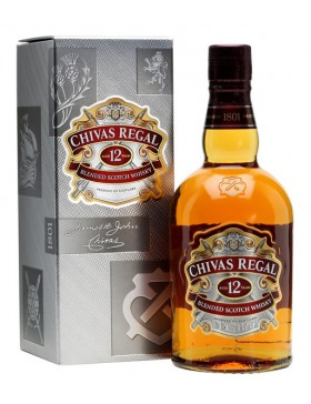 CHIVAS REGAL 12 YO BLENDED SCOTCH WHISKY 700ml (kartonik)