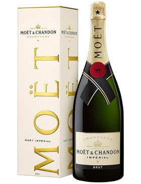 MOET & CHANDON BRUT IMPERIAL + KARTONIK 750ml