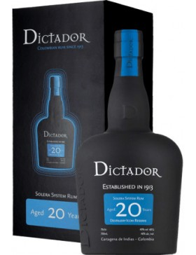 DICTADOR 20YO GIFT BOX 700ml
