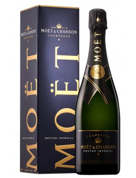 MOET & CHANDON NECTAR IMPERIAL + KART. 750ml