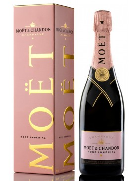 MOET & CHANDON ROSE IMPERIAL + KARTONIK 750ml