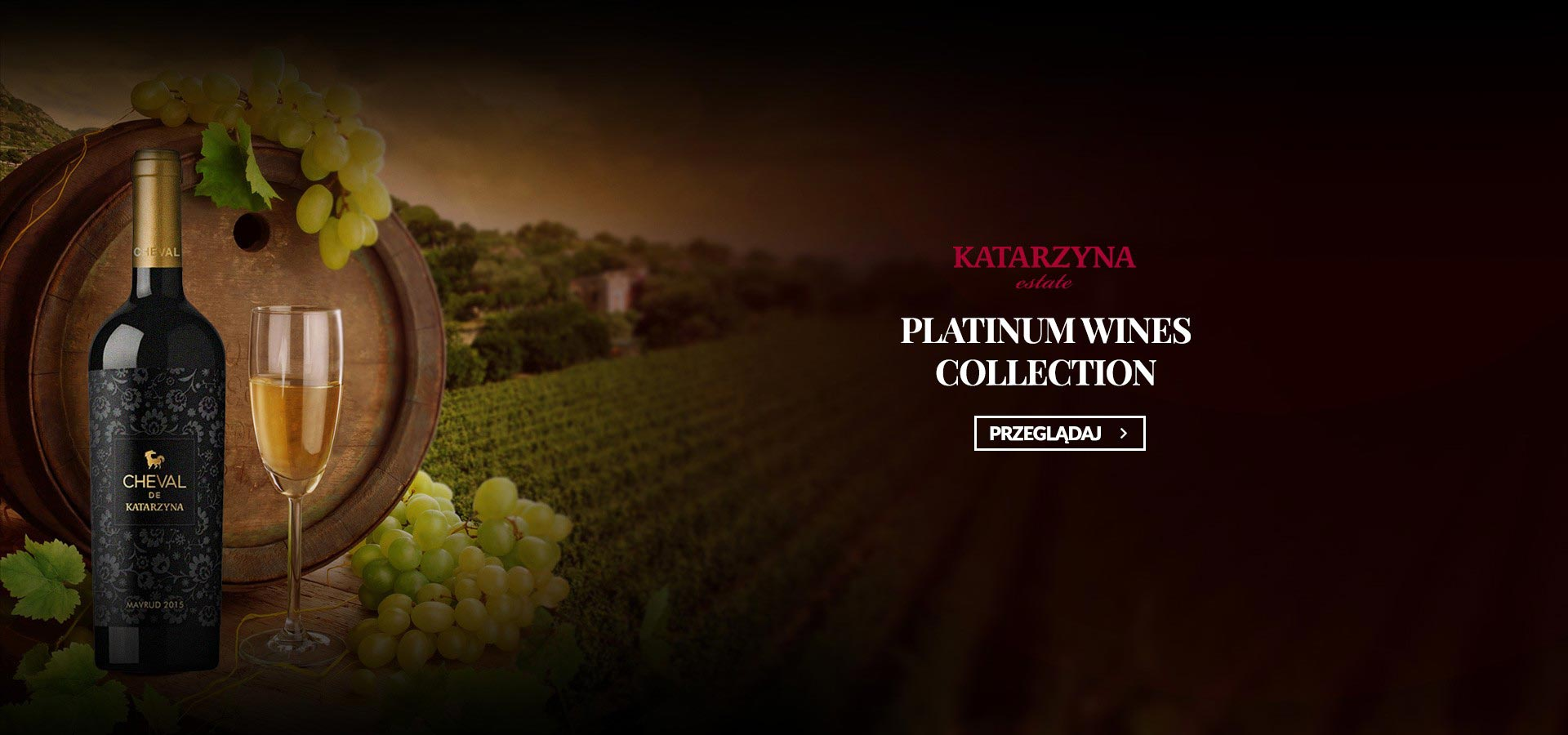 Platinum wines collection